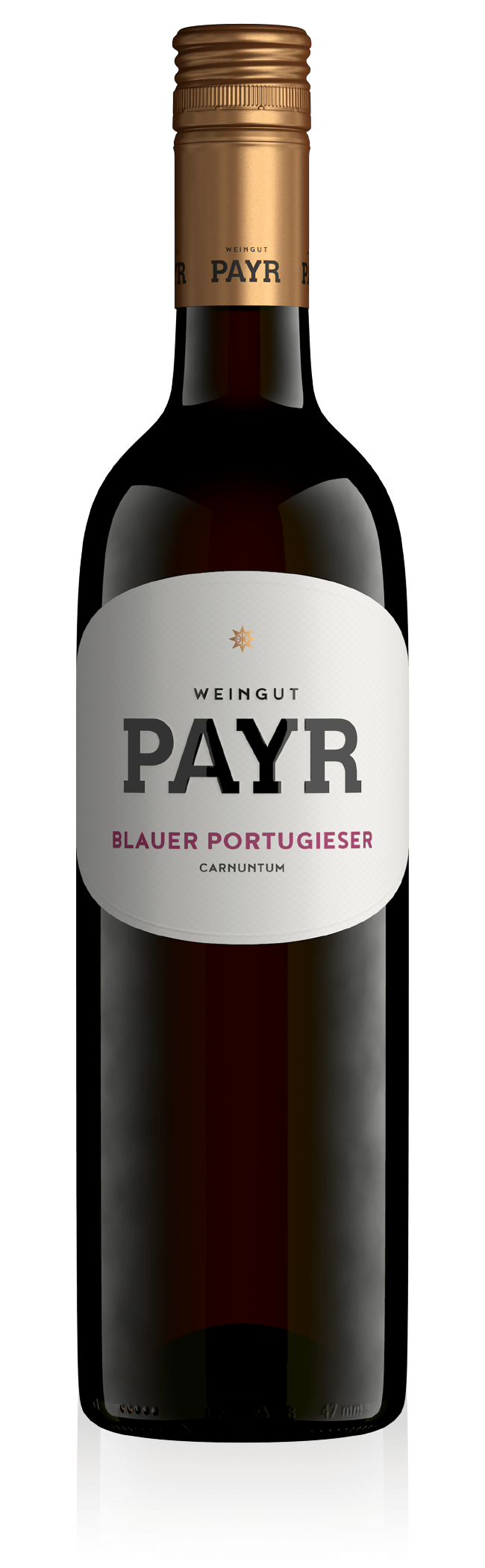 Weinflasche Blauer Portugieser