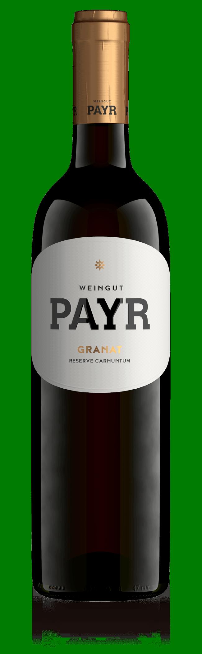 Weinflasche Granat