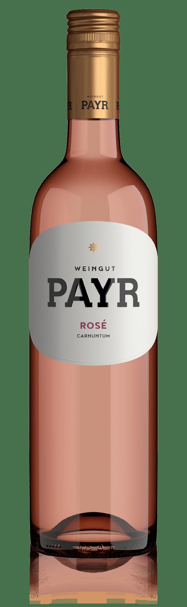 Weinflasche Rosé